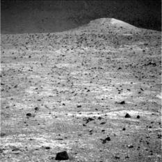 Spirit Mound on Mars