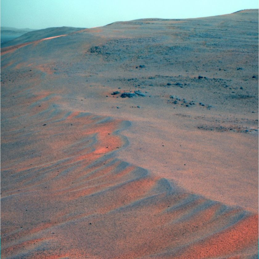 Upper edge of Perseverance Valley