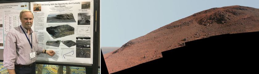 Ray Arvidson and the perils of hill driving on Mars