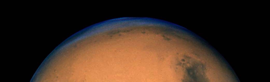 Mars from Hubble in 2005