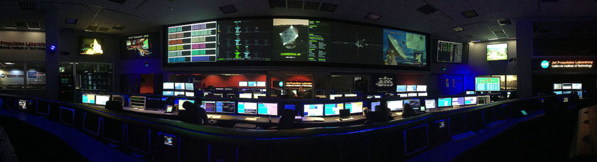 JPL Space Flight Ops signal processing center
