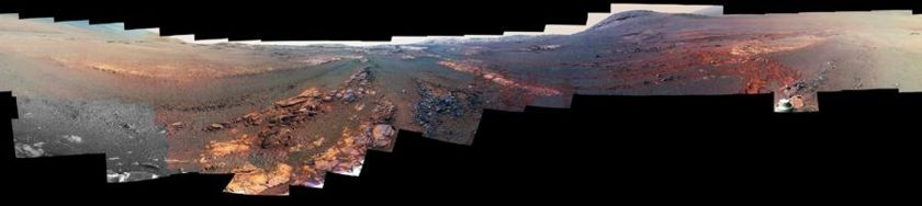 Opportunity's last panorama