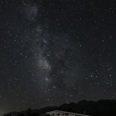 Milky Way Over Building 9