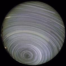 South Celestial Pole Star Trail