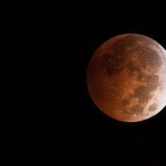 Lunar Eclipse and Uranus 10-8-14