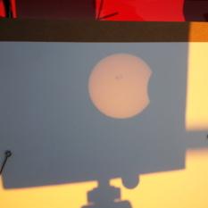 Partial Solar Eclipse 10-23-14