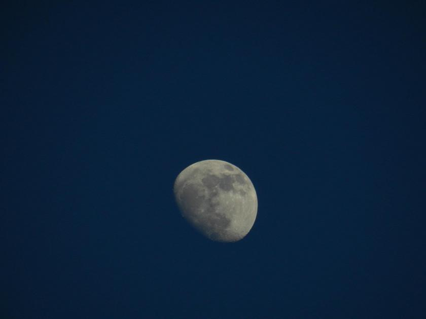 Moon in Dublin, Ireland