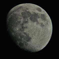 Moon through my 8