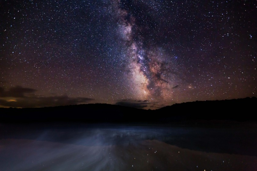 Milky Way over West Virginia