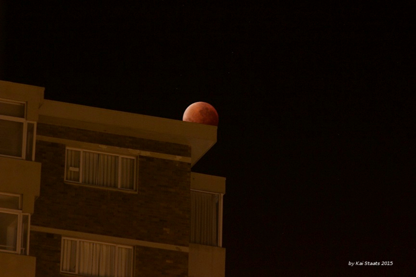 Lunar Eclipse from South Africa - part 2