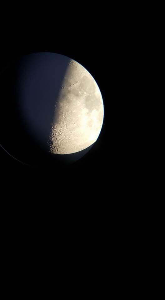 1st Quarter Moon, Sept 21 2015