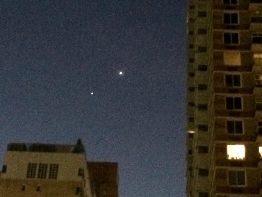 Mars, Jupiter and Venus 42 Street NYC