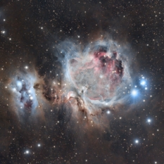 Orion Nebula from the Arizona Desert