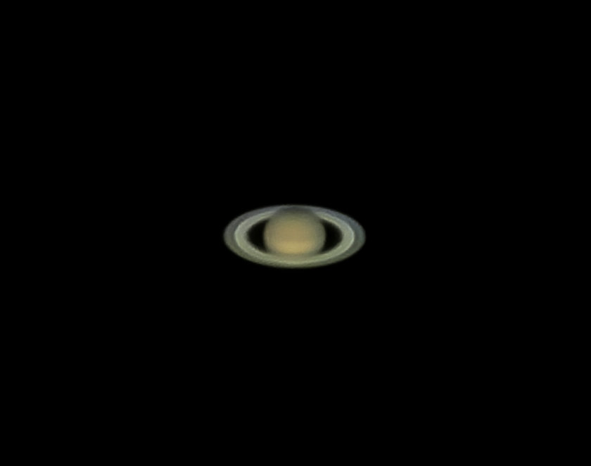 Saturn from iPhone (handheld)