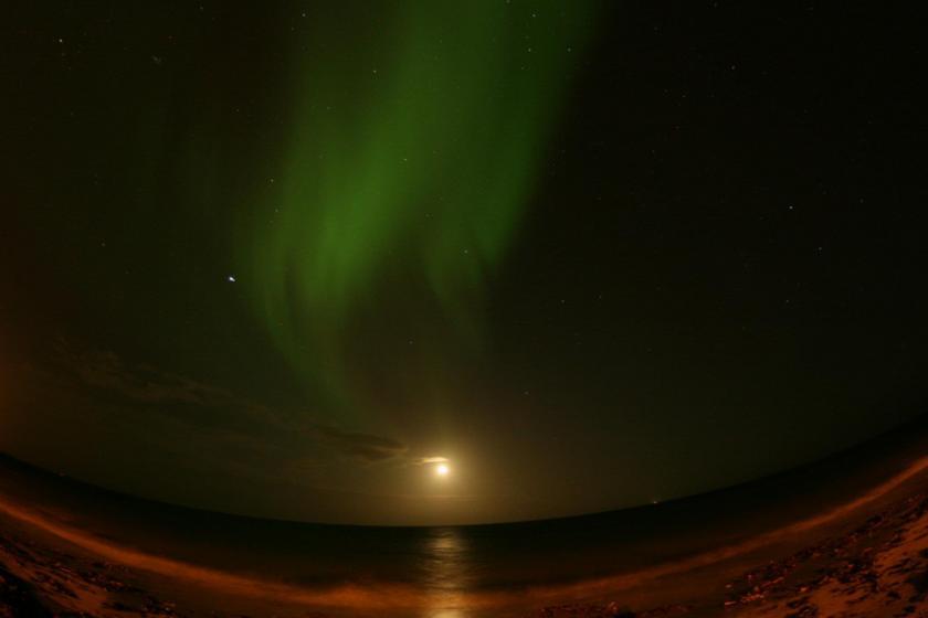 Lights over Keflavik