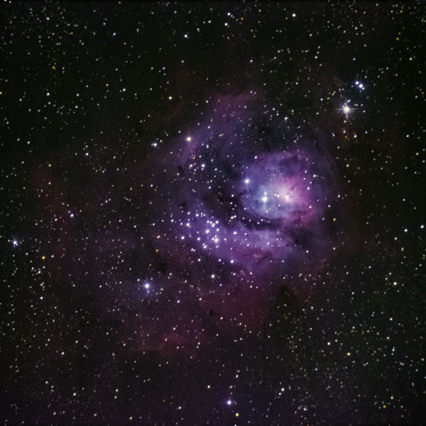 Elemental Skies -- The Lagoon Nebula (M8)