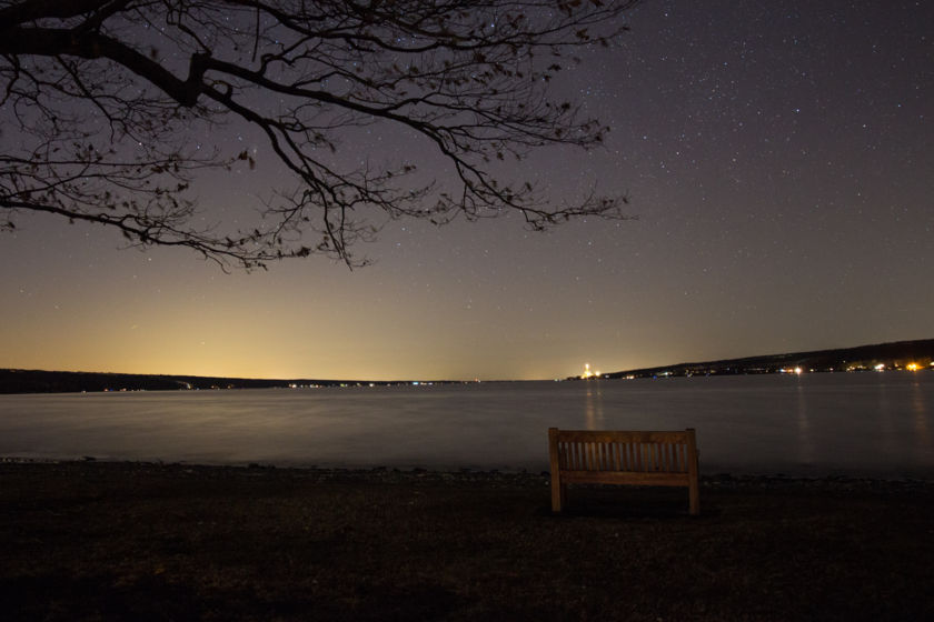 Lake Cayuga Night Sky