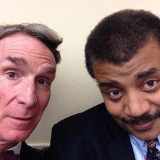 Bill Nye and Neil deGrasse Tyson in Washington