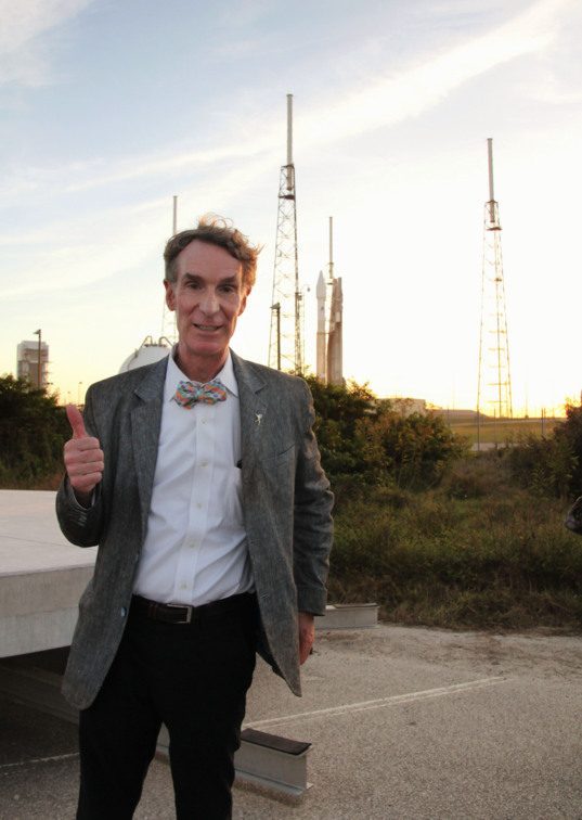 Bill Nye gives MAVEN a thumbs up