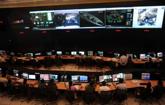 Mars Orbiter Mission Control, ISTRAC, Bangalore