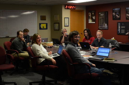 PIMR attendees in the Tombaugh Science Operations Center in Boulder, CO