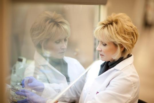 Cheryl Nickerson of the Biodesign Institute at Arizona State University