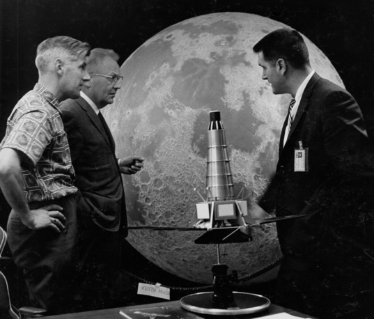 Preparing for the moon's close-up