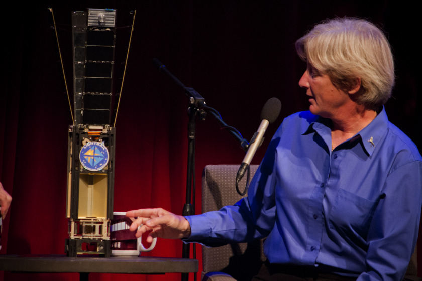 Barbara Plante with LightSail