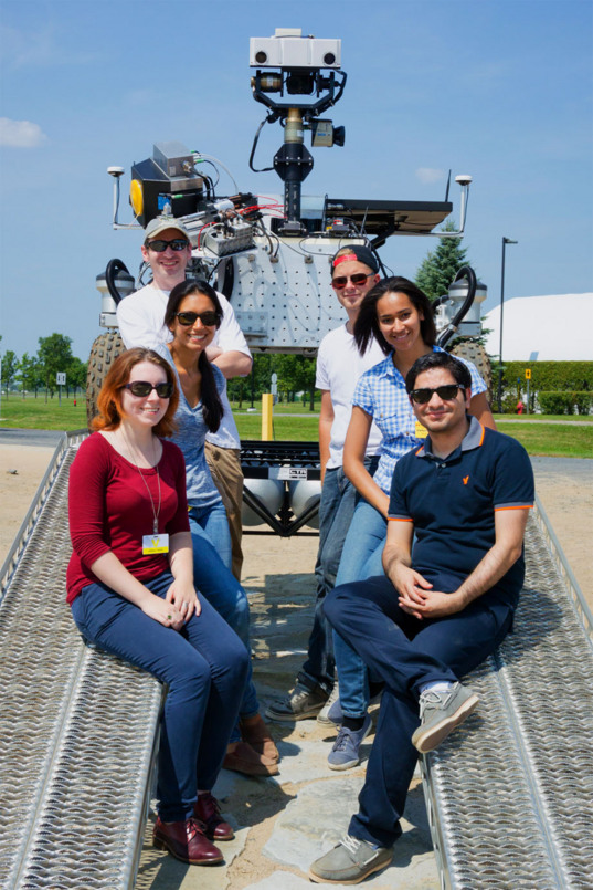 Mars Analogue Mission Rover Team located at CSA