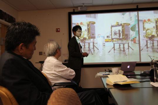 Hayabusa2 Mission Sample Scientist Shogo Tachibana