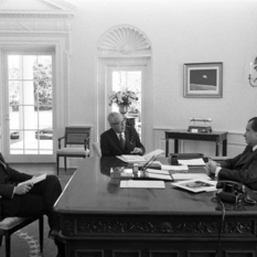 Meeting with President Nixon