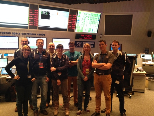 Emily Lakdawalla and the Philae team