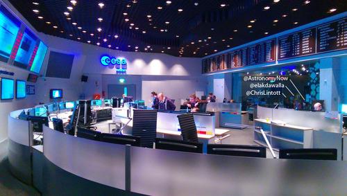 ESOC Main Control Centre