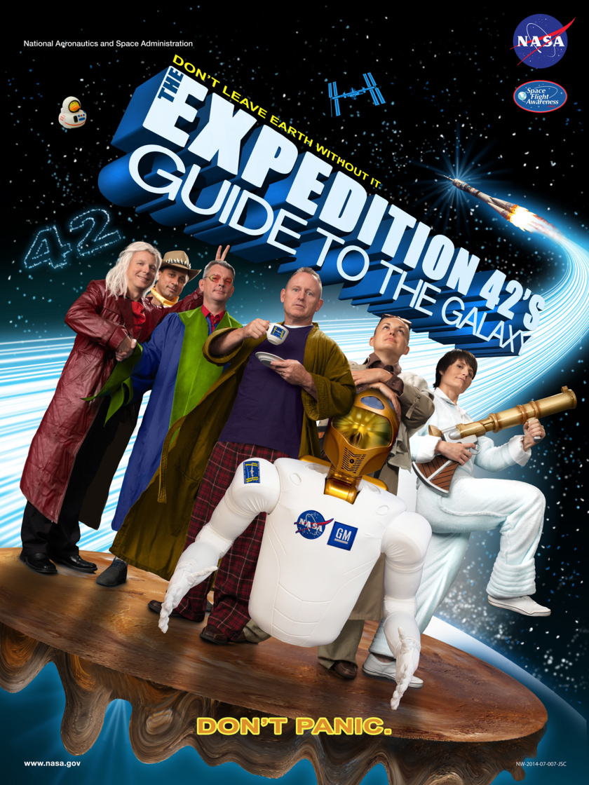 Expedition 42 crew poster