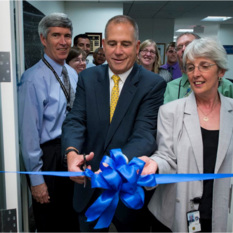 Cutting the Ribbon on NASA HQ's New History Office