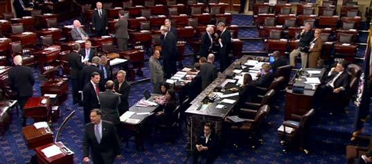 Senate after voting for the Budget Control Act of 2011
