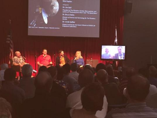 Mat Kaplan and guests wait for New Horizons to phone home from Pluto