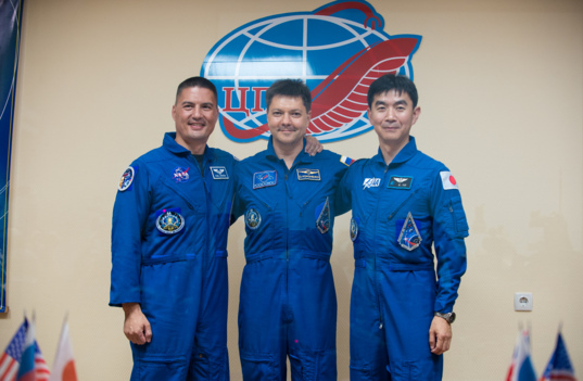 Expedition 44 crew