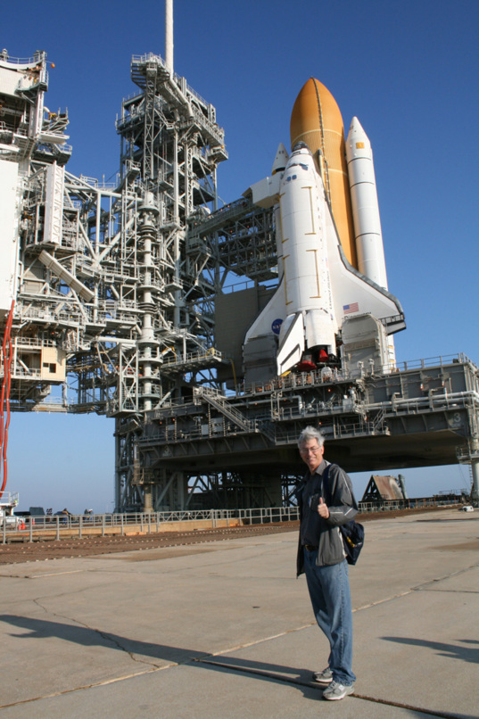 Ken Kremer and Discovery