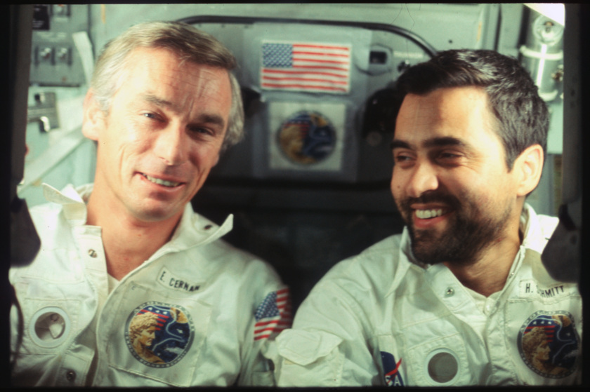 Harrison Schmitt and Gene Cernan, Apollo 17