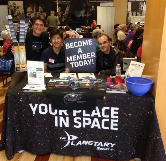 Los Angeles, CA Volunteers at Northrup Grumman Science Caf�