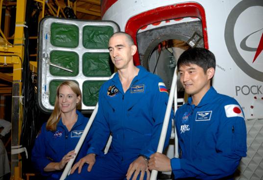 Soyuz MS-01 crew