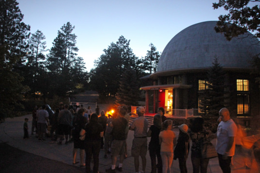 Public viewing at Lowell Observatory