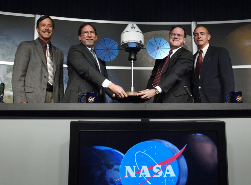 Orion unveiling