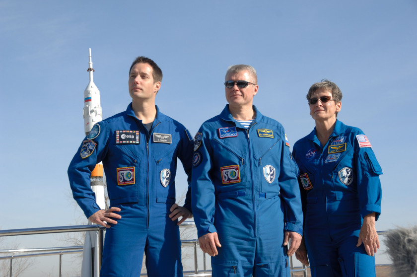 Expedition 50 / 51 crewmembers