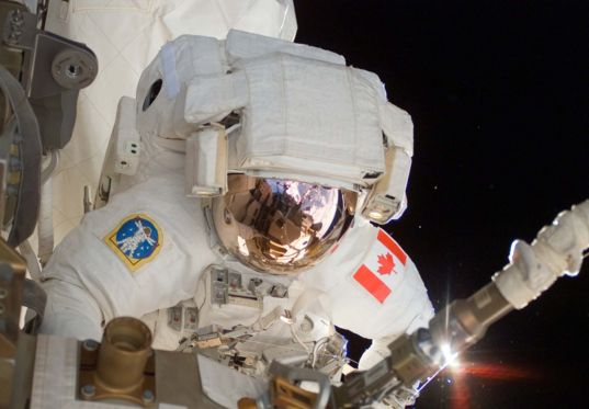 Canadian Space Agency astronaut Dave Williams
