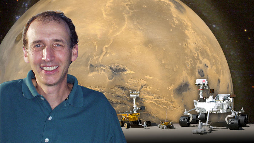 Matt Golombek and Mars rovers
