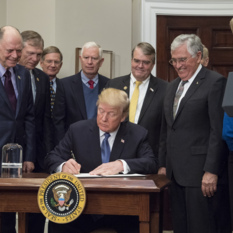President Trump Signs Space Directive 1