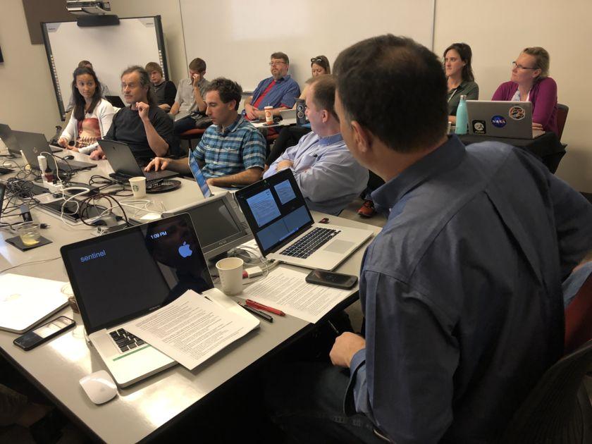 Mastcam-Z Science Team meeting