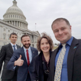 2018 Legislative Blitz selfies